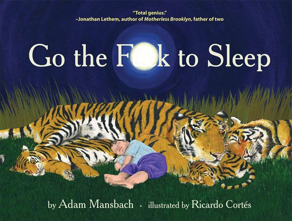 I perhaps wont be reading this until much later in my life. The title, however made me giggle on a rainy morning.