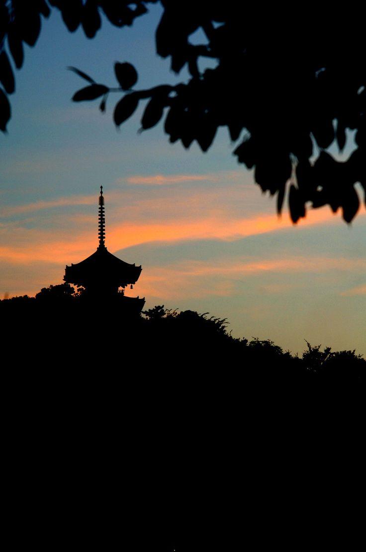 みなとみらい 横浜 サンセット 夕焼け sunset 三溪園