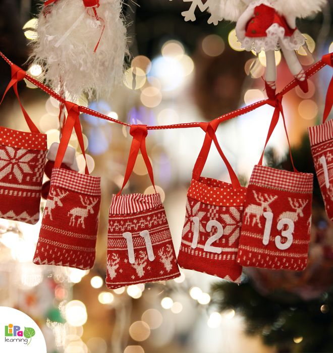 4 ways to catch up with your Advent calendar. Quick DIY ideas from Lipa Village!