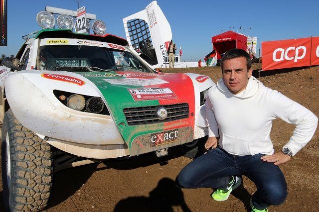 24 Horas TT Fronteira: Miguel Campos no 3º lugar do pódio com o AC Nissan Proto