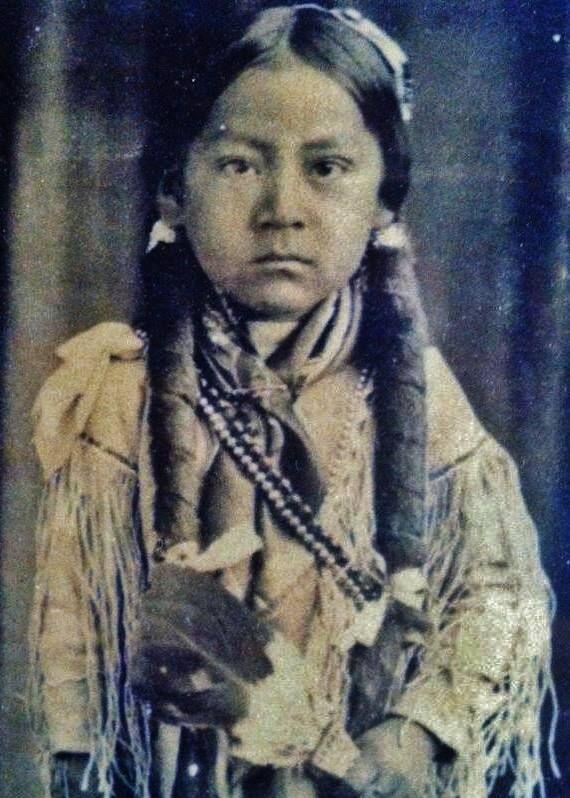 William Quoetone (aka Bill Quoetone) - Kiowa - circa 1916  {Note: Bill Quoetone was the son of Gui-tone (aka Wolf Tail, aka James Quoetone, aka Jimmy Quoetone) and his 2nd wife, Mat-ton-saw (aka Little Girl, aka Daisy). Later in his life, Bill Quoetone became the husband of Lottie Quassicker-Quoetone.}
