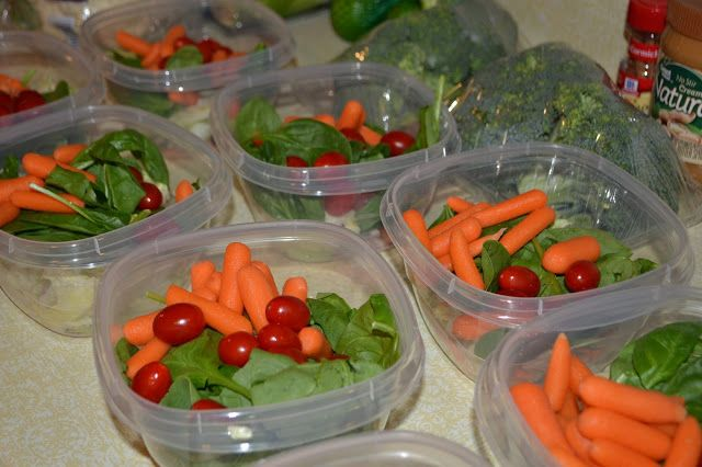 Eating Clean... Prep weekly meals in advance!