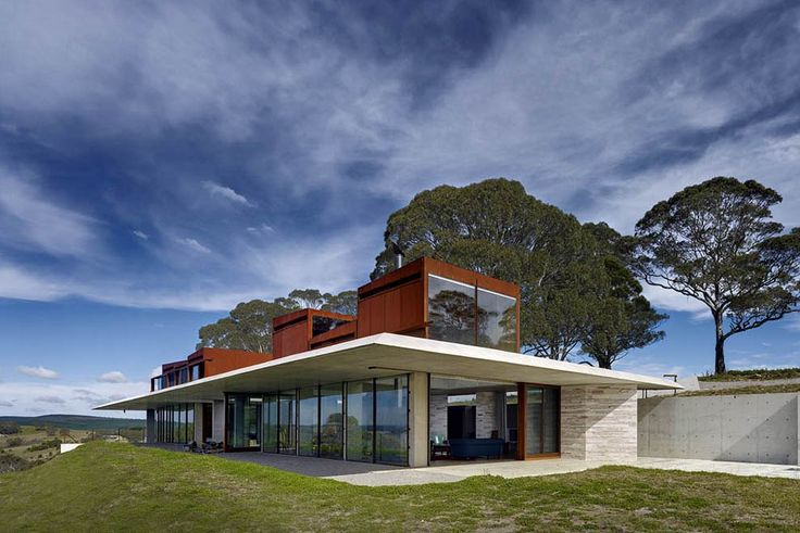 """""""A house that speaks with feeling"""" SMH Life&Style   December 8, 2013 by Trisha Croaker A daring, remote temple of a house evokes delight, joy and respect for the power and beauty of the Australia bush, and so much more."""