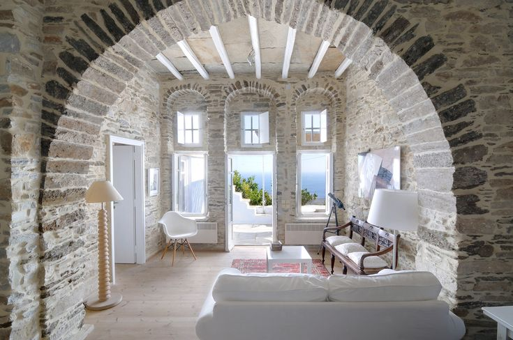 Luxury Greek Villas Tinos Villa For Rent In Mykonos Cyclades Greece Traditional Two Bedroom