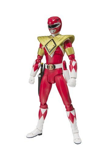 """Bandai Tamashii Nations S.H. Figuarts Armored Red Ranger """"Mighty Morphin Power Rangers"""" Action Figure"""