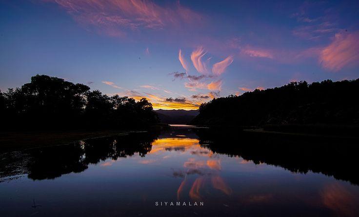 Dawn at Lake Waikaremoana