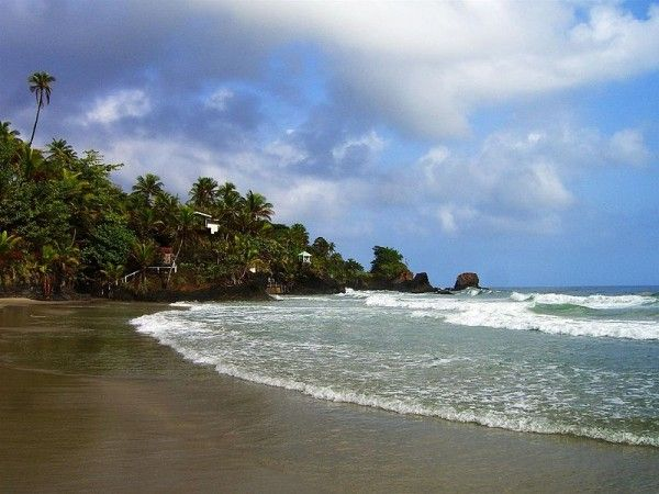 About the Food of Trinidad & Tobago (Photo Credit: Blanchisseuse Beach Trinidad. Photo by Andy Truello.) | Global Table Adventure