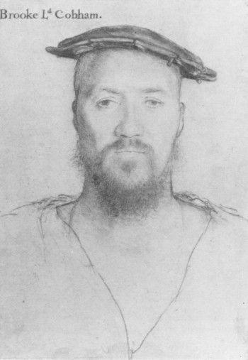 Holbein: George Brooke, 9th Baron Cobham, c1492-1558