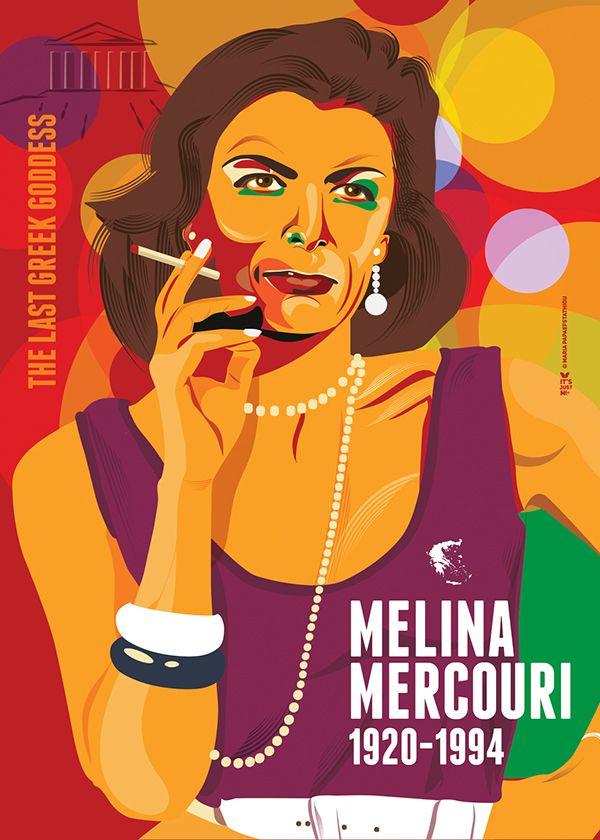 Melina Mercouri - The last Greek Goddess on Behance