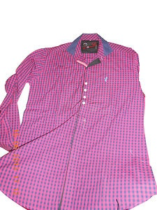 New Mens Luxury Stylish ZEMONZAA branded Pink Colour(L,M,XL )Size Casual Shirts