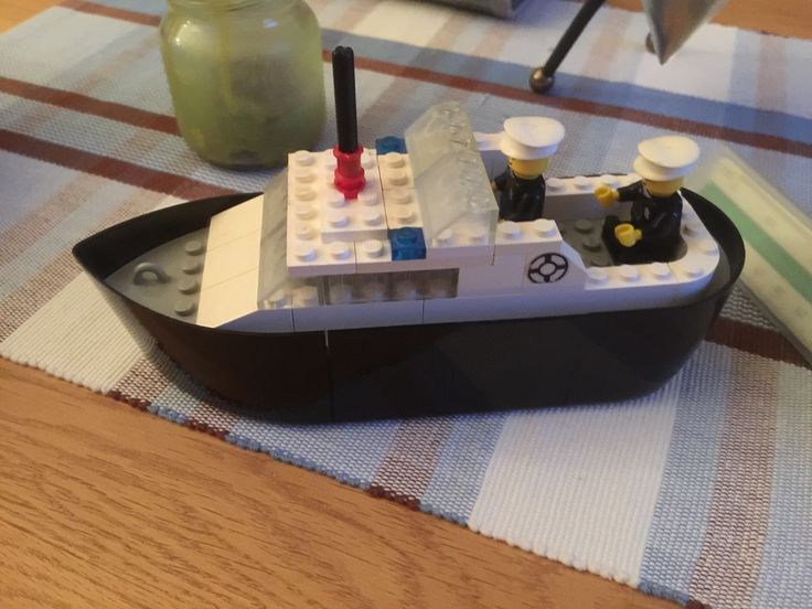 Lego Police Patrolboat from 1975