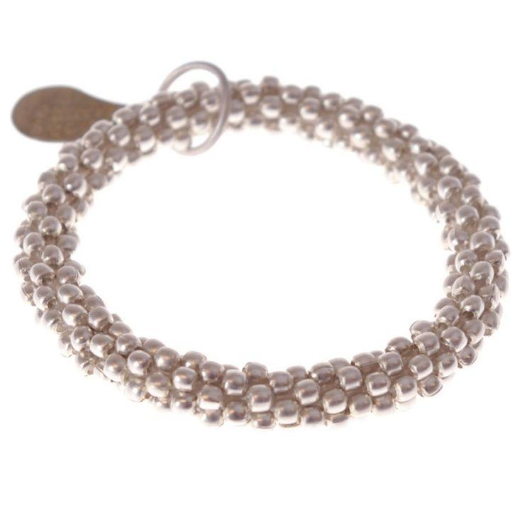 A Beautiful Story sieraden | Studio Art Styles  | Armband | handmade in Nepal | Twist silver bracelet