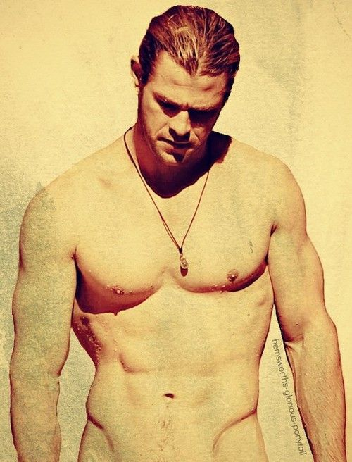Chris Hemsworth mm yes.