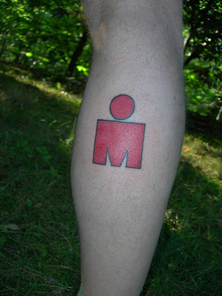 Ironman Triathlon Logo Tattoo | Kelly's Journey to Ironman Lake Placid
