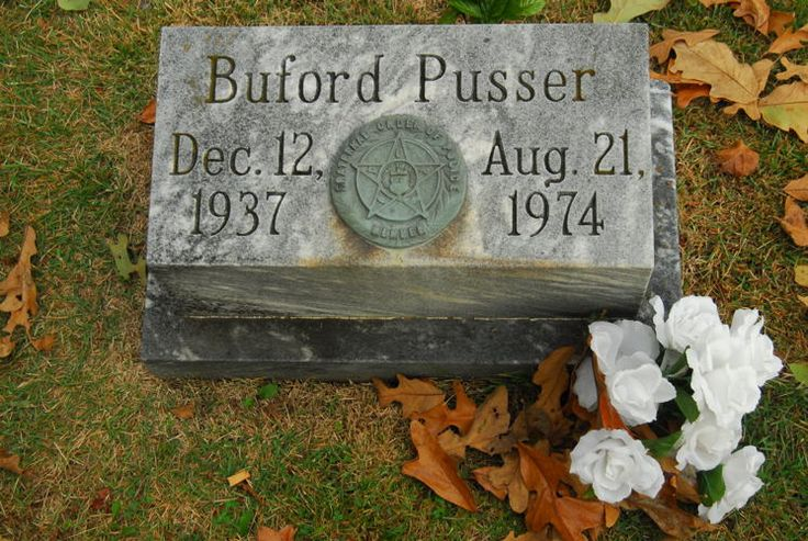 """Buford  Pusser (1937 - 1974) Tennessee sheriff, his life was the subject of the """"Walking Tall"""" movies"""