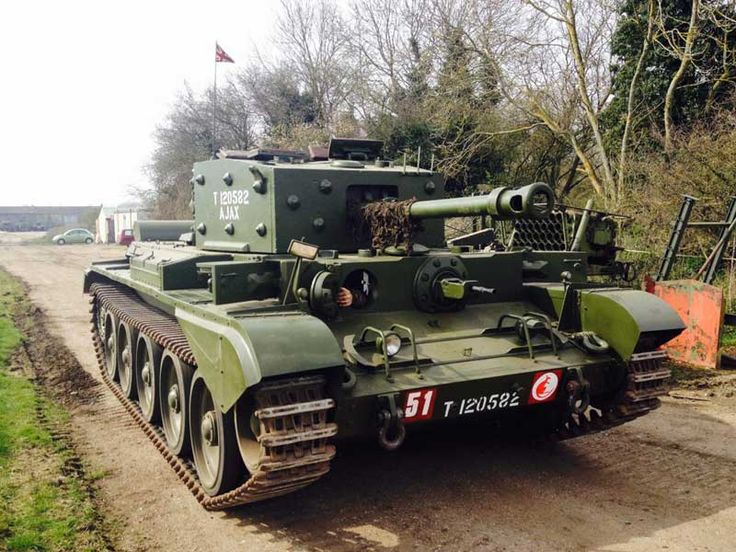 Rare opportunity to own a piece of wartime British armour. This K4f Cromwell tank was built by Metro Cammell in 1943 and has recently undergone a full ground up restoration and is in great running and driving condition. The tank won the Milweb award for most outstanding vehicle of 2013 as well