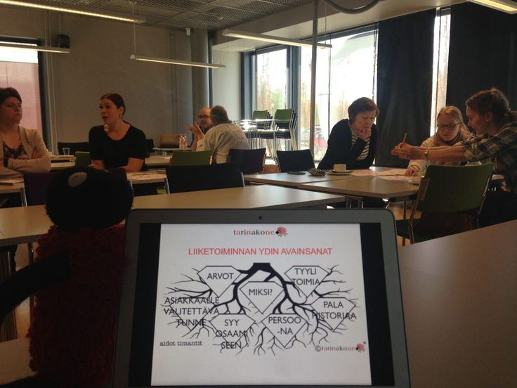 StoryWorkshop in Frami Seinäjoki, Finland, entrepreneurs, new business concepts. #storytree