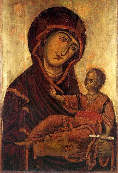 Madonna delle perle ant.1171 Palermo Museo Diocesano