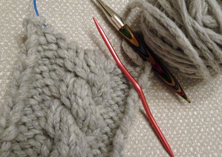 How to knit a simple cable. Its not wizzardry!
