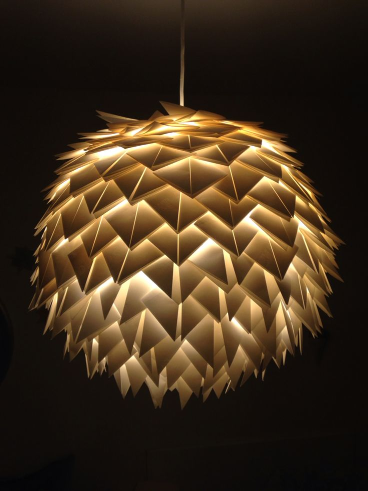 Easy diy paper lamp