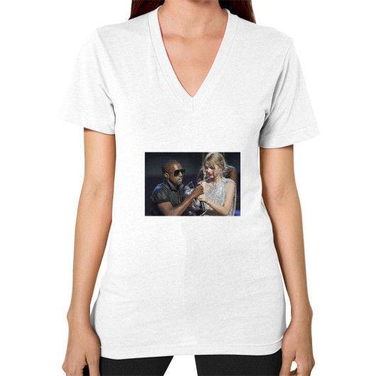 Kanye Taylor V-Neck (on woman)