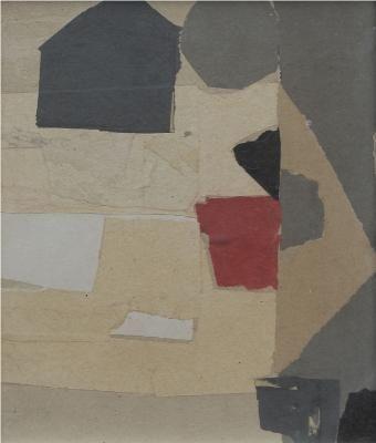 Francis Davison - Black House In Fields (A170)