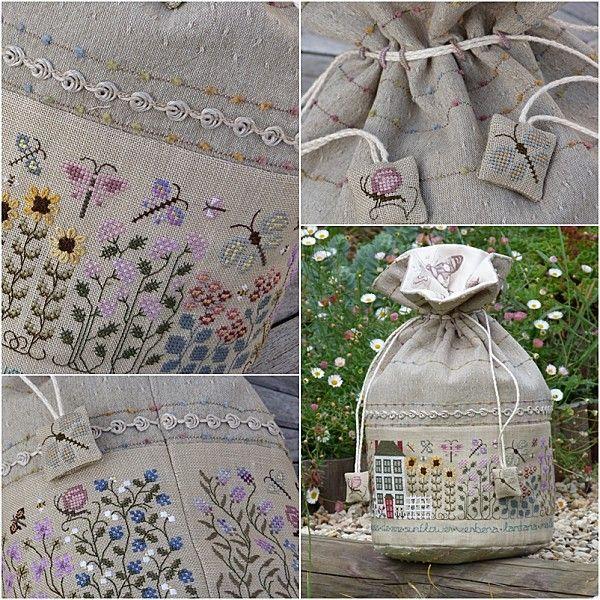 Butterfly Garden, The Drawn Thread.