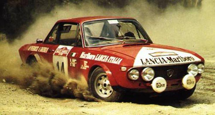 1973 Lancia Fulvia HF Marlboro n2.014 Pregliasco-Garzoglio 07° Sanremo 1973