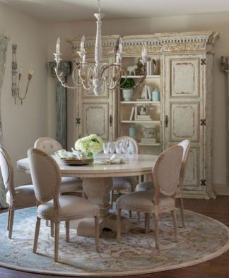35 Amazing French Country Dining Room Decor Ideas