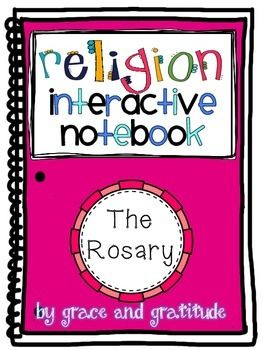 Have you started a Religion Interactive Notebook with your students? This resource can be used in an INB, as a worksheet, or a foldable...whatever meets your class needs! This file contains resources to help you teach your students about the Rosary - the beautiful prayer the St.