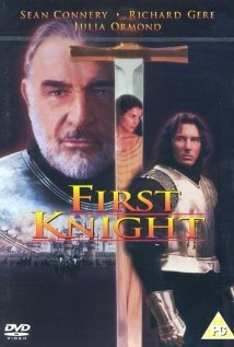 """First Knight"" - Lancelot, o primeiro cavaleiro,1995 by Jerry Zucker (Omg my two favorite hot actors Sean Connery and Richard Gere.  Julia Ormond is just beautiful in this.  I love love love this movie. <=> Commented by Paul: Thx)"