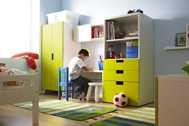 ikea room - saw these in real life and they are way too cute. Perfect for the young crowd. Look decently durable too.