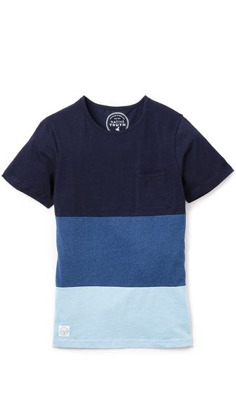 Native Youth 3 Panel T-Shirt
