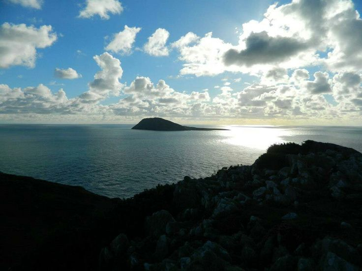 Bardsey Island, at the tip of the llyn, i took this in the evening sun