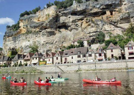 Location de Canoe Kayak Sur Dordogne - Vézère - Dronne - Isle - Canoé Dordogne