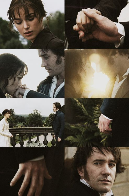 HANDS - Pride and Prejudice (2005)... seriously though now this is so underrated with everyone having their hands all over each other. I mean back then a little touch made you feel everything... #wasborninthewrongera