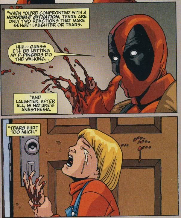 A reminder that Deadpool can be surprisingly deep.