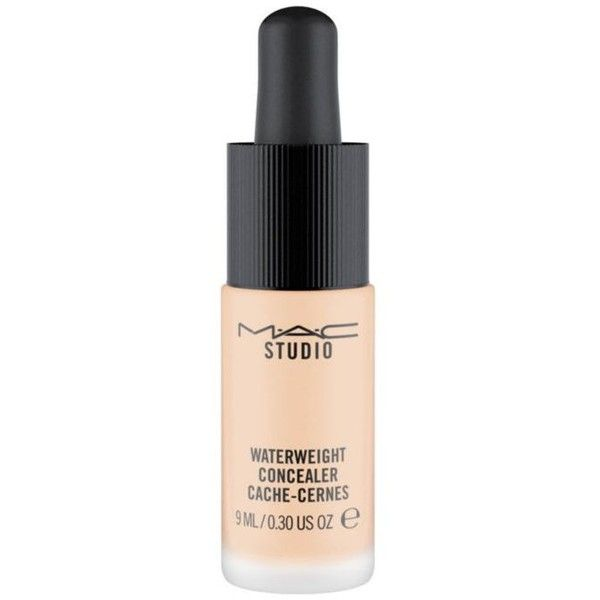 Mac  Studio Waterweight Concealer ($23) ❤ liked on Polyvore featuring beauty products, makeup, face makeup, concealer, mac cosmetics, moisturizing concealer, mac cosmetics concealer, hydrating concealer and oil free concealer