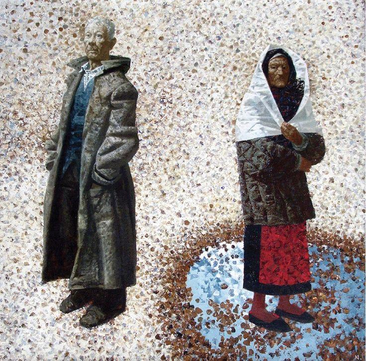 Igor Kravtsov (1964 - 2010) - First Snow, 2009