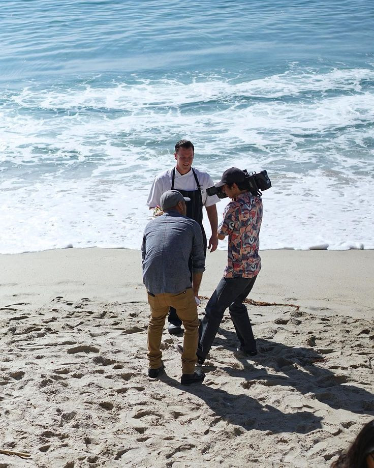#Throwback to shooting in the #oceanbreeze with Chef Ron Fougeray from #Splashes at the Surf and Sand Resort!  #PixByPixus  #pixus #teampixus #orangecounty #losangeles #marketing #photography #videography #marketingteam #foodporn #foodphotography #chefronfougeray #surfandsandresort #laguna #lagunabeach