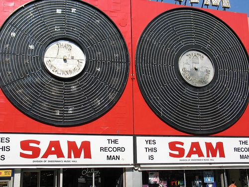 Yes This Is Sam the Record Man. Toronto Canada