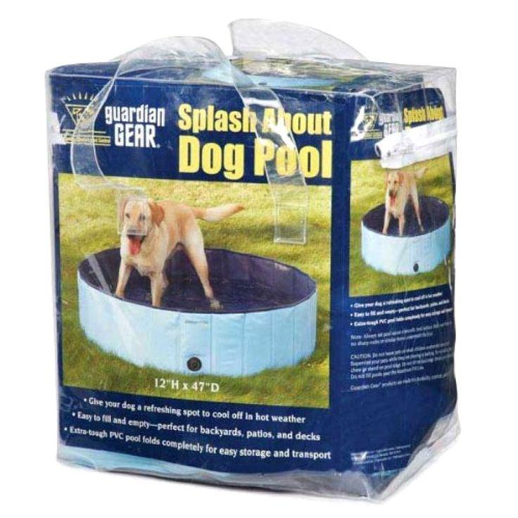 Splash About Dog Swimming Pool Portable Pool Dog Swim Dog Play Yard Dog Pool New #CoolPup