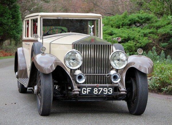 1930 Rolls-Royce Phantom II Harrison Saloon. - www.realcar.co.uk