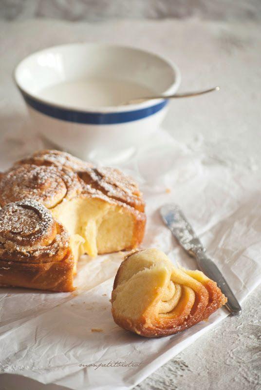 """Dal libro """"Croissant e biscotti"""" una meraviglia """"briochiosa"""" firmata Luca Montersino, assolutamente da non perdere. Soffice e profuma..."""