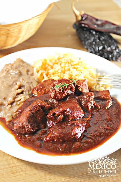 Mexico in My Kitchen: Pork Stew Nuevo León Style / Asado de Puerco |Authentic Mexican Food Recipes Traditional Blog
