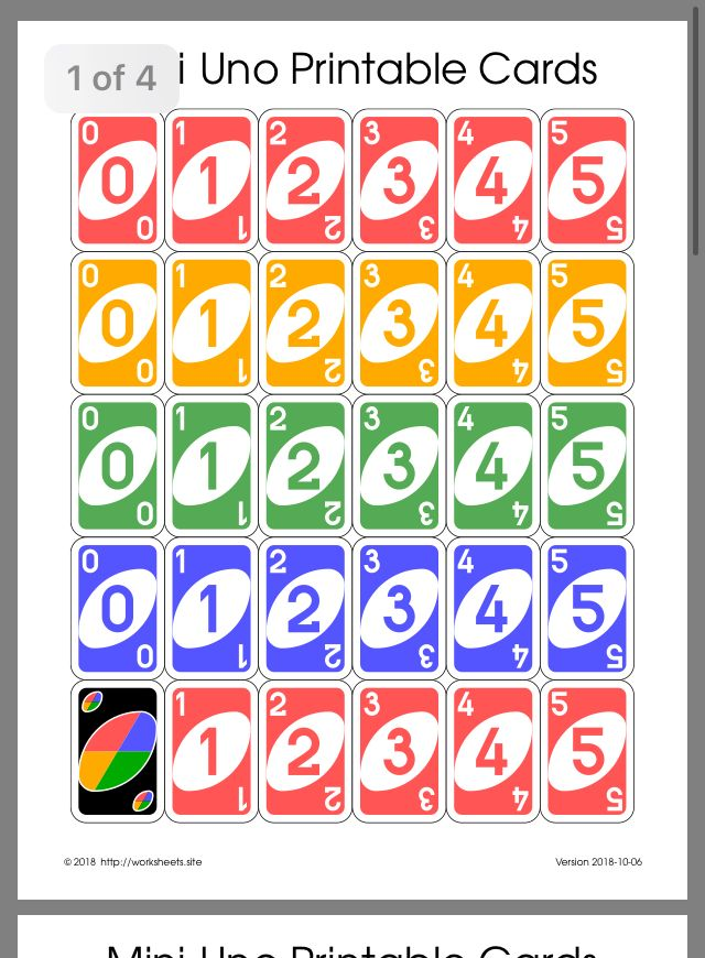 Pin By Judit Tollnerne On Matek Uno Cards Diy Uno Cards Uno Card Game