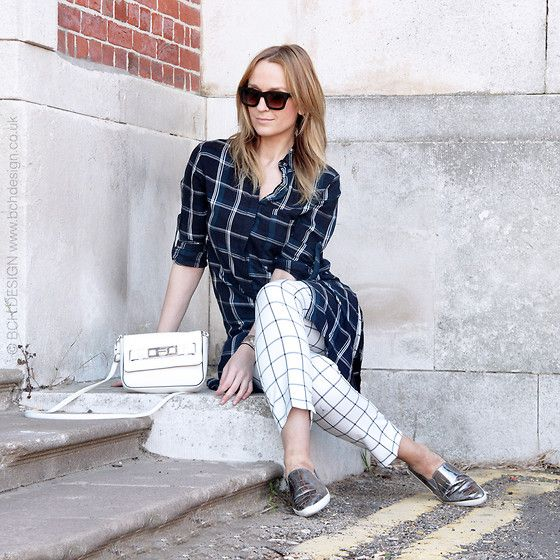 Get this look: http://lb.nu/look/7632360  More looks by Mad Cat Fashion P.: http://lb.nu/madcatfashion  Items in this look:  Zara Checked Shirt, Primark Checked Trousers, Primark Silver Sneakers, Primark Bag   #43 #casual #minimal #street #bournemouth #spring #grid #checks #trench