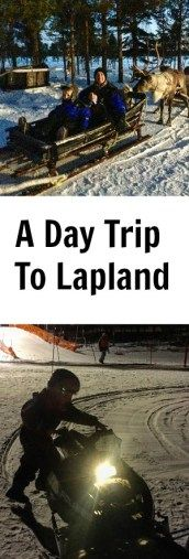 A day trip to Lapland to see Santa Claus with Canterbury Travel
