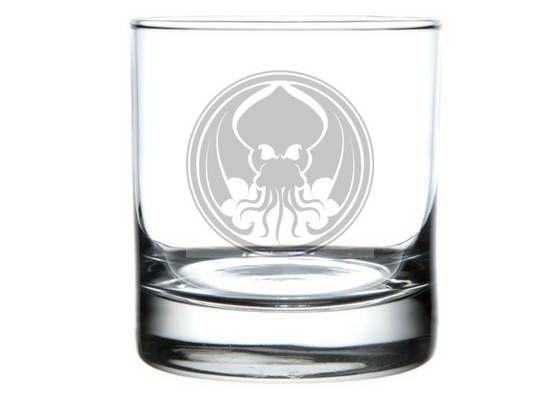 Cthulhu Glass Cthulhu Gift Cthulhu idol HP Lovecraft pint