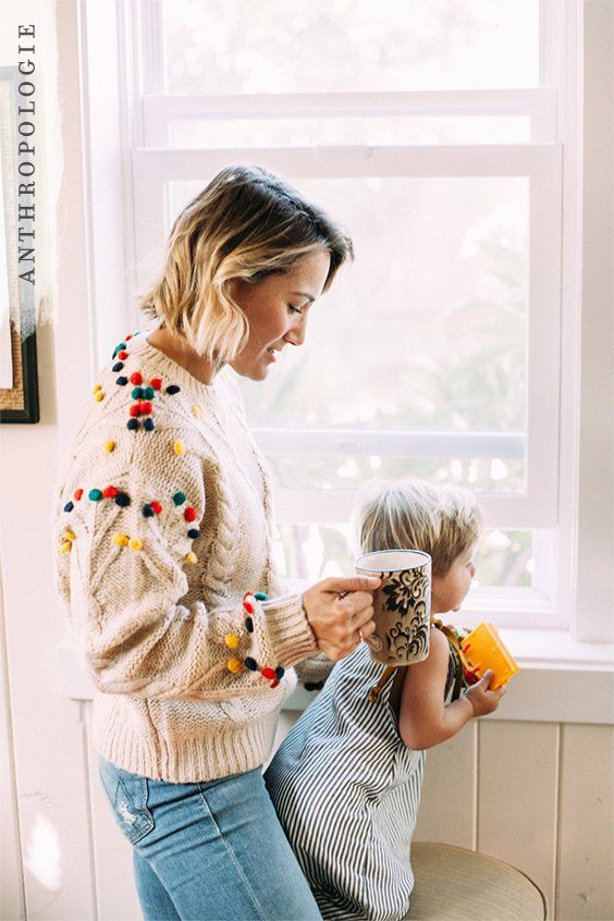 Pom-pom Cable Sweater | Shop Anthropologie